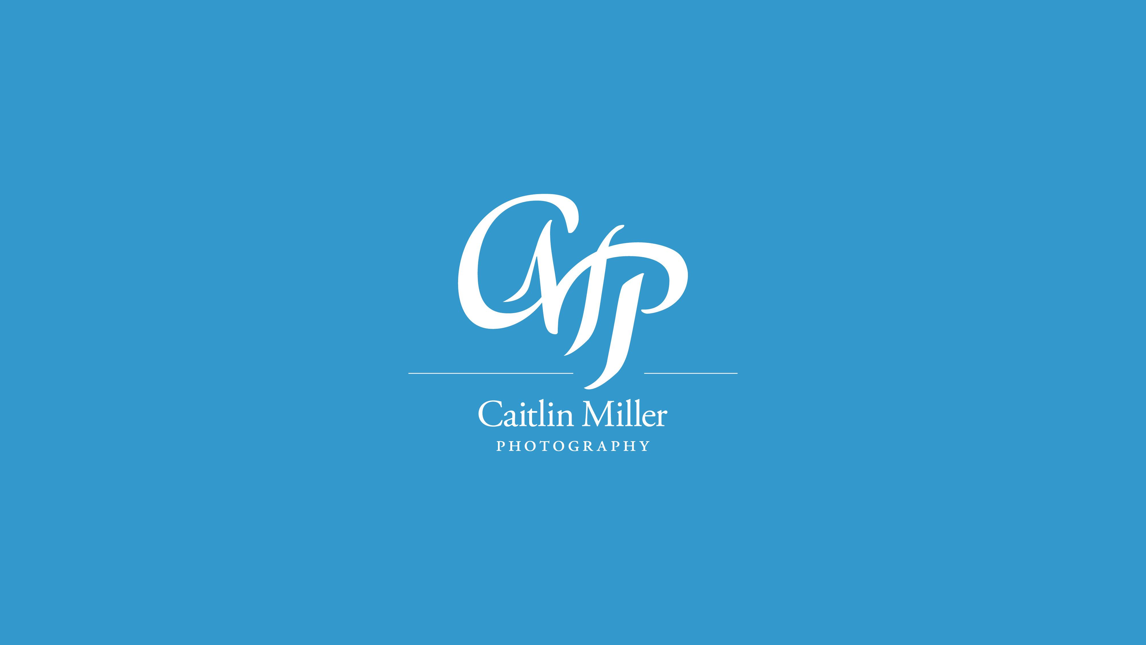 Jake Cooper Design - Logo - Caitlin Miller Photography Branding