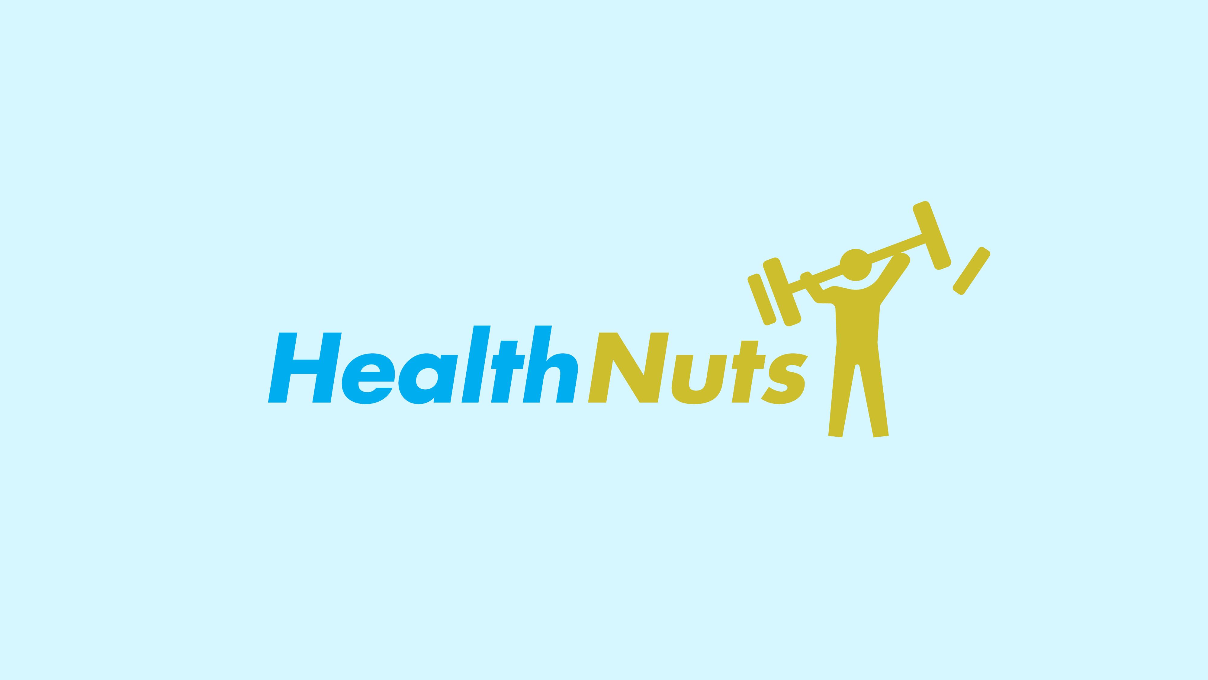 Jake Cooper Design - Logo - Health Nuts