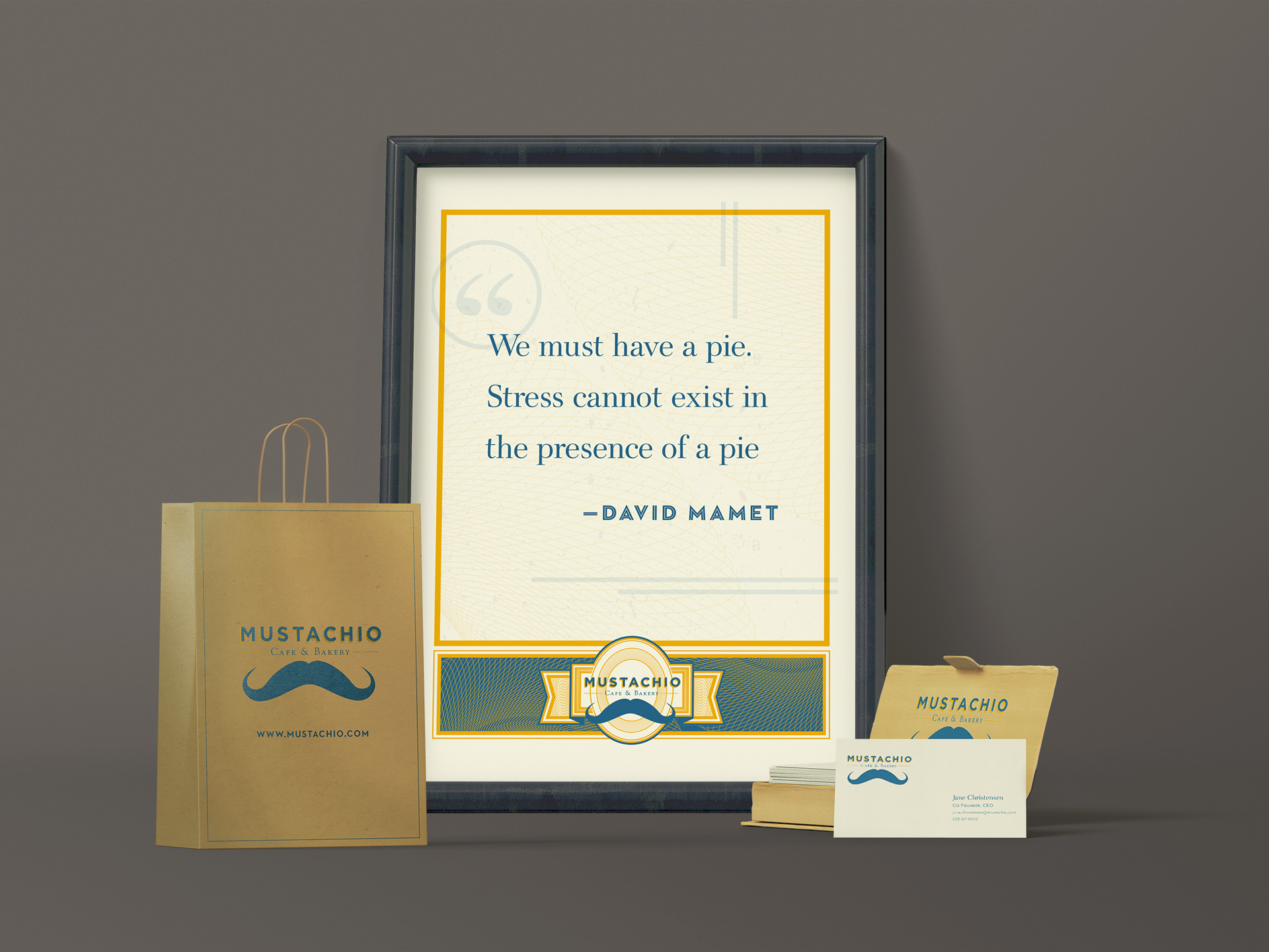 Mustachio | Branding Materials | Jake Cooper Design