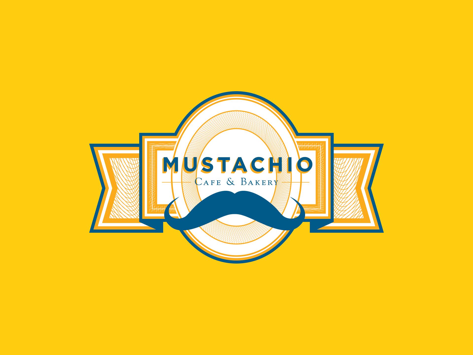 Mustachio | Logo | Jake Cooper Design