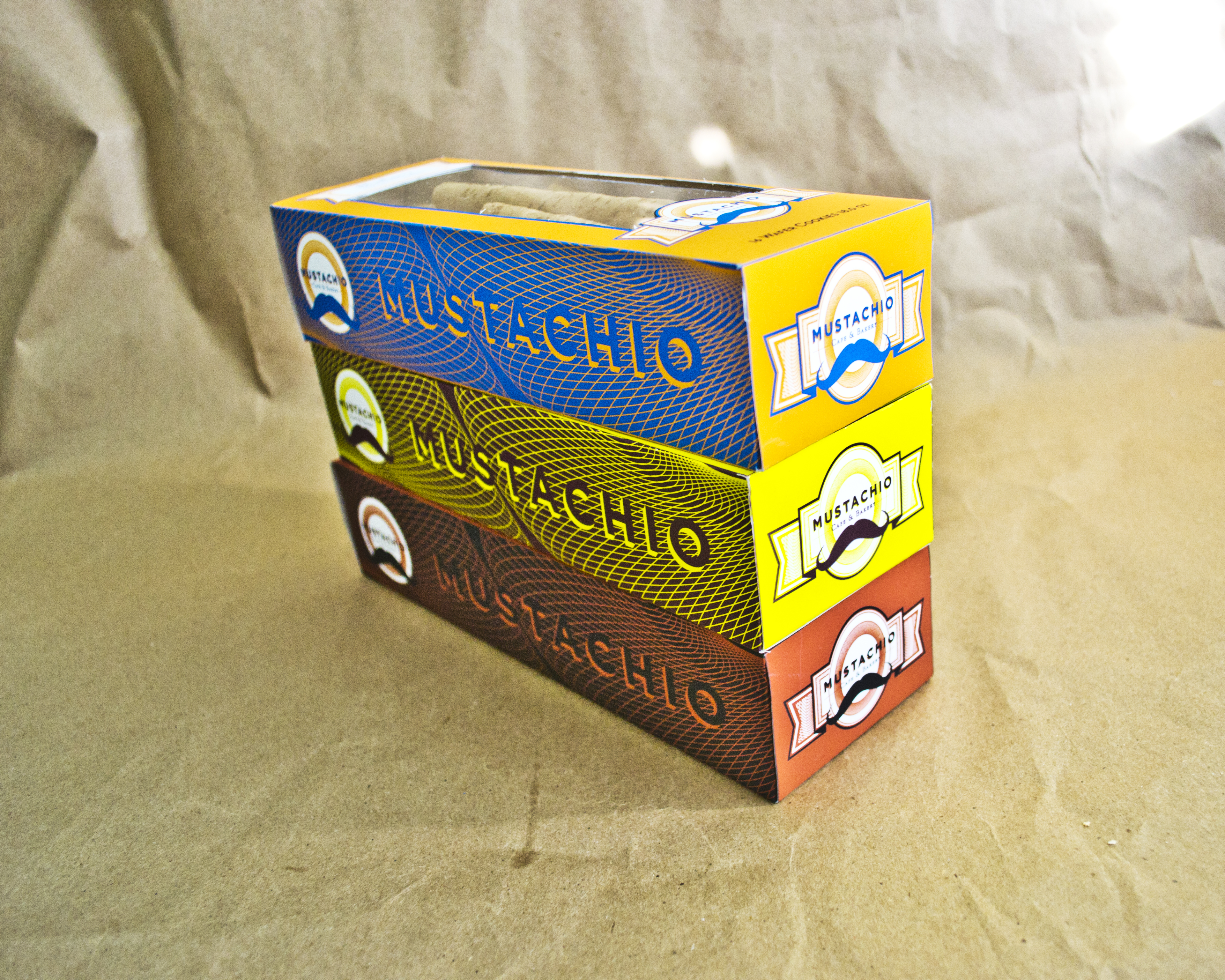 Mustachio | Packaging Stacked | Jake Cooper Design