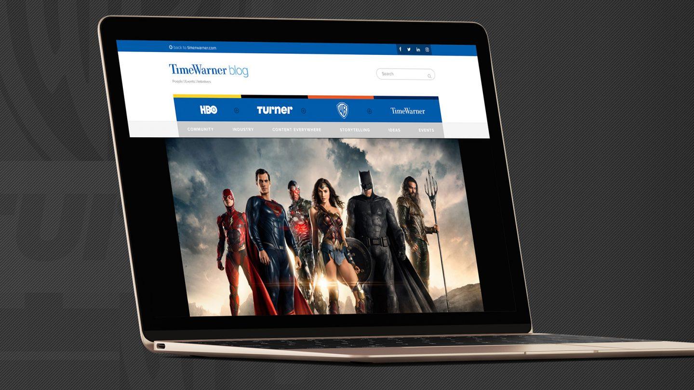 Time Warner Inc. Blog | Laptop Cover Image | Jake Cooper Design