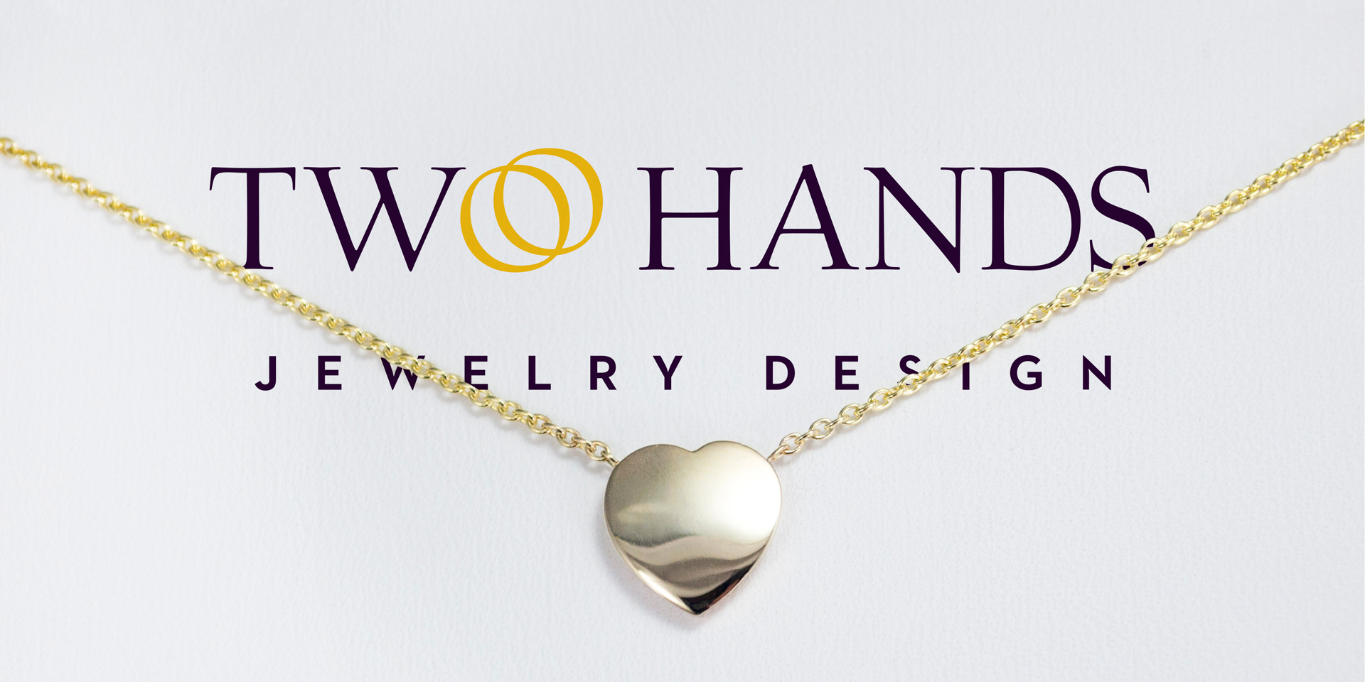 Two Hands Jewelry Design | Logo Banner | Jake Cooper Design