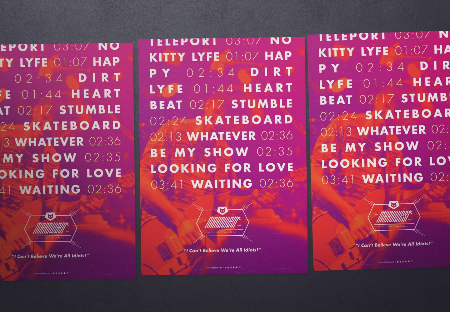 Maadwest | Posters | Jake Cooper Design