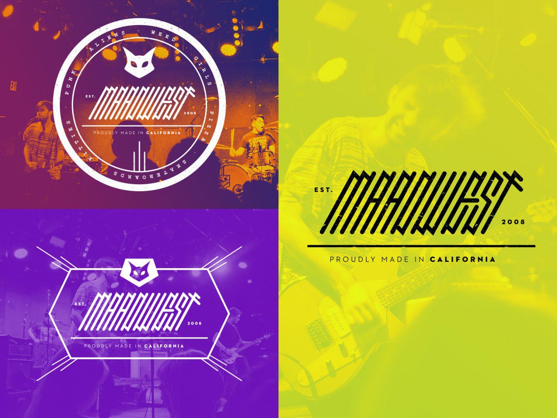 Maadwest | Logo Variations | Jake Cooper Design