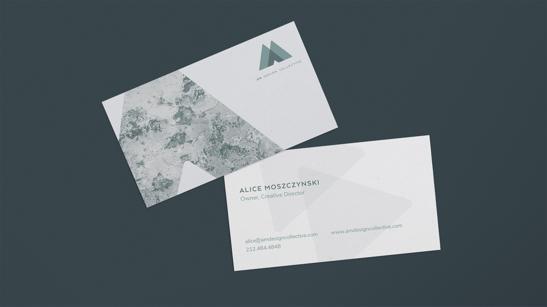 AM Design Collecting | Business Cards | Jake Cooper Design