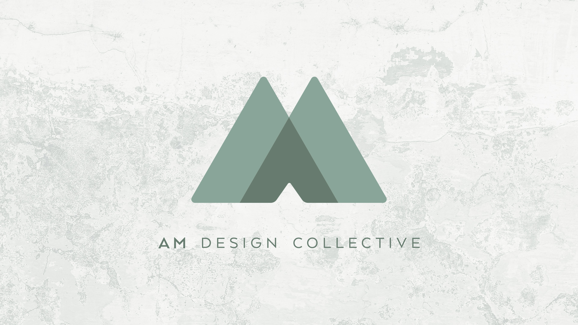AM Design Collecting | Logo Plate | Jake Cooper Design