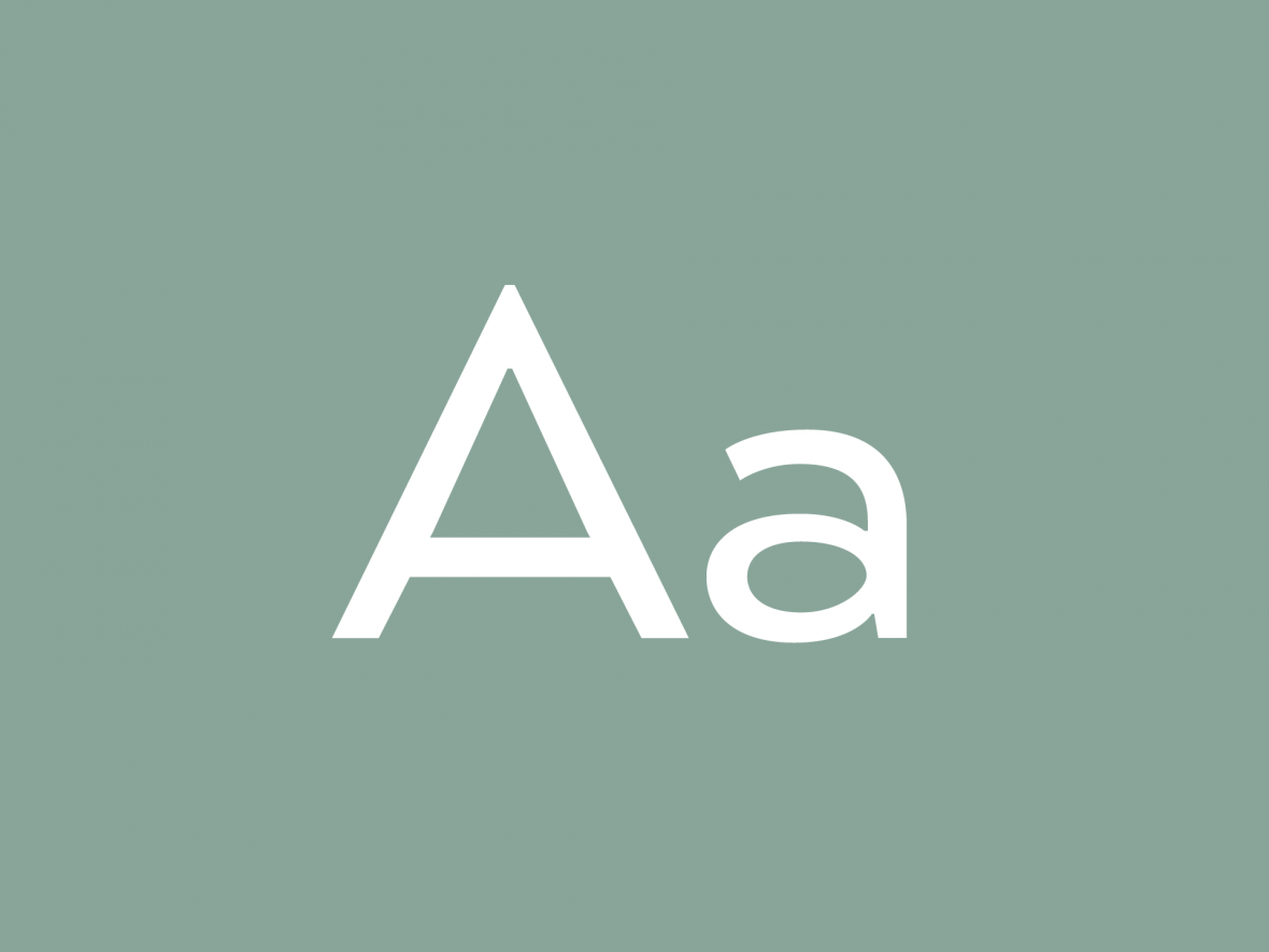 AM Design Collecting | Typography Characters | Jake Cooper Design