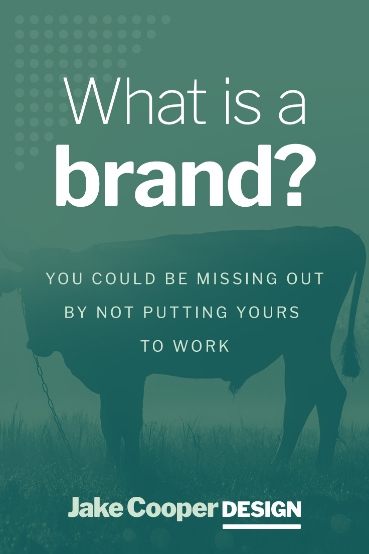 What is a Brand? Pinterest Cover | Jake Cooper Design